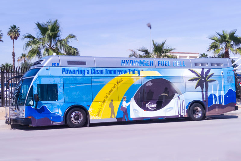Hydrogen Fuel Cell Buses Program gets $35M Grant in CA