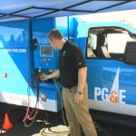 PG&E Unveils New Class 6 Hybrid Electric Truck