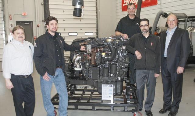 Paccar MX13 Diesel Engine Donated to Vocational School
