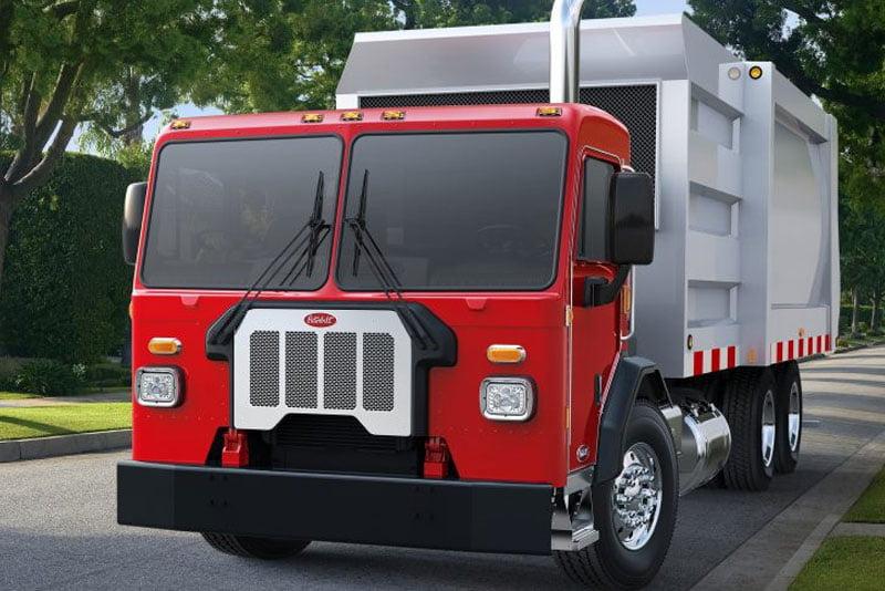 Peterbilt Class 8 Electric Garbage Truck