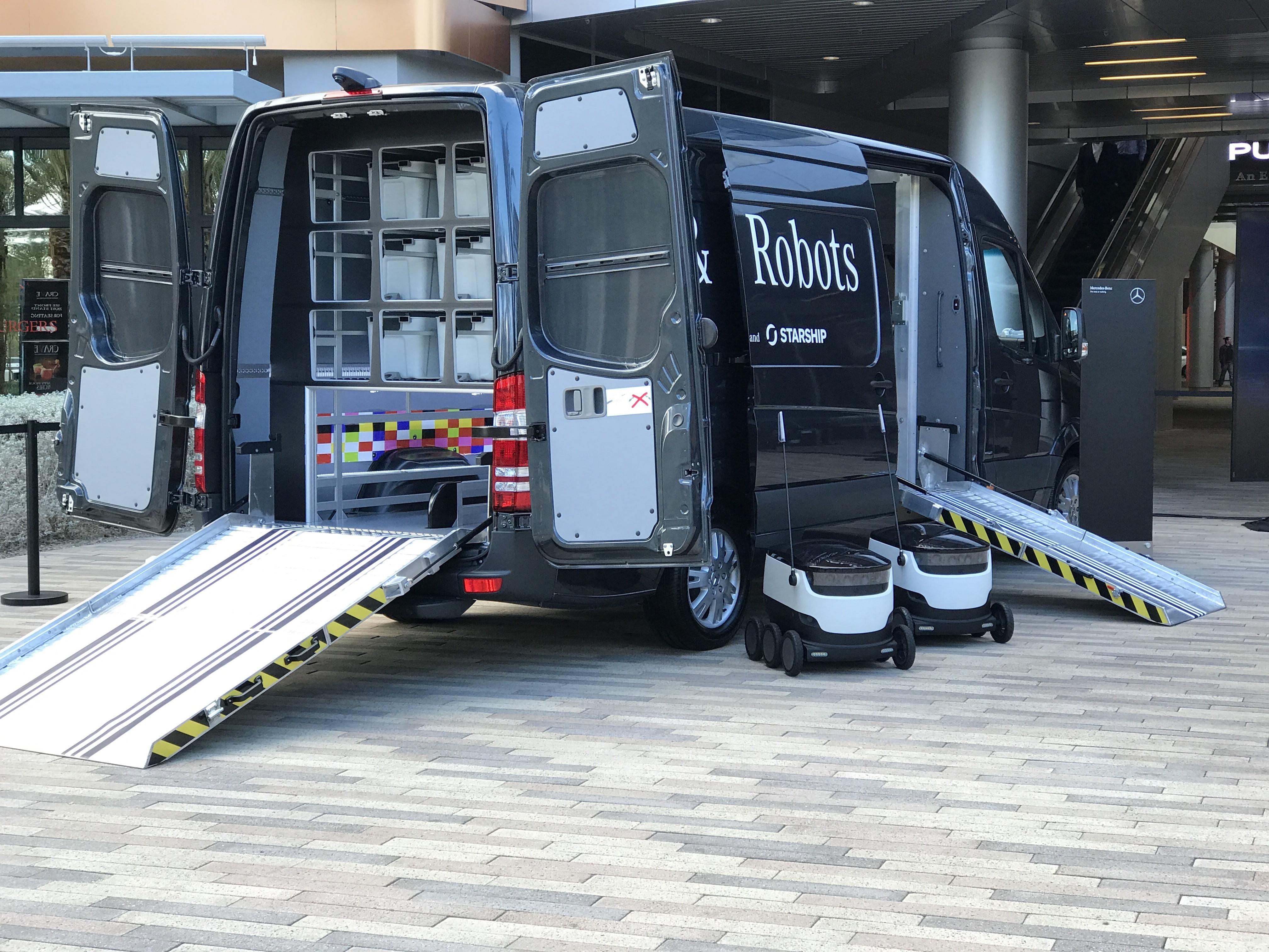 Mercedes-Benz Autonomous Delivery Van