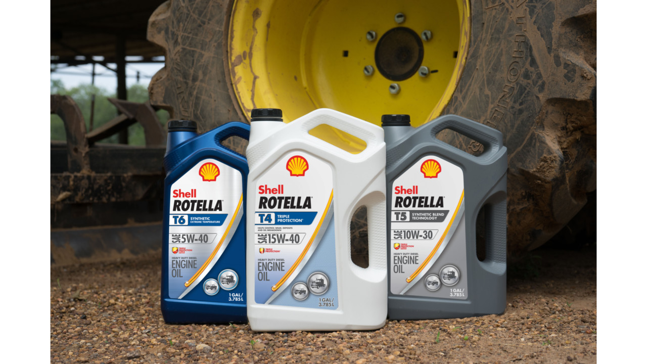 Shell Rotella Surpasses CK-4 Standards