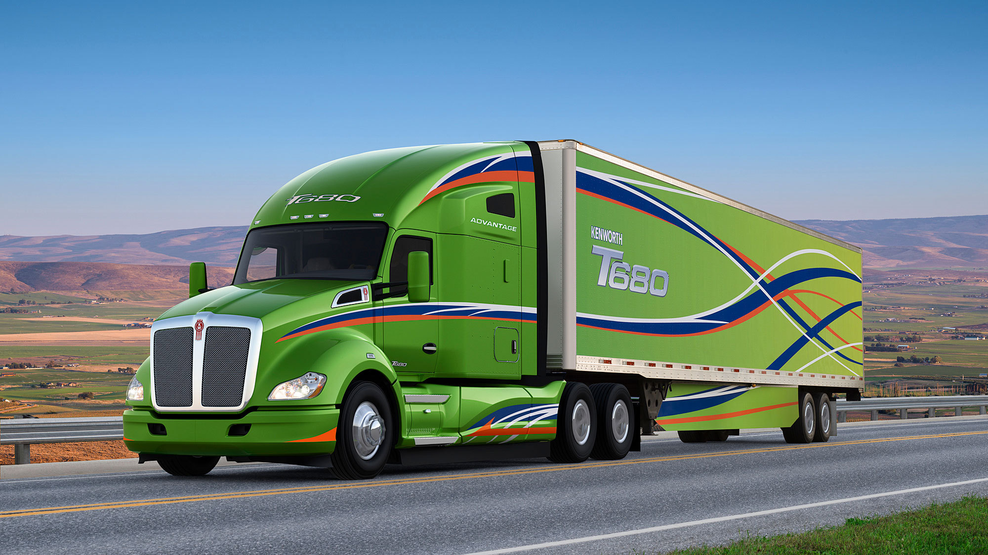 Kenworth Developing T680 Hydrogen Powered Fuel Cell Truck