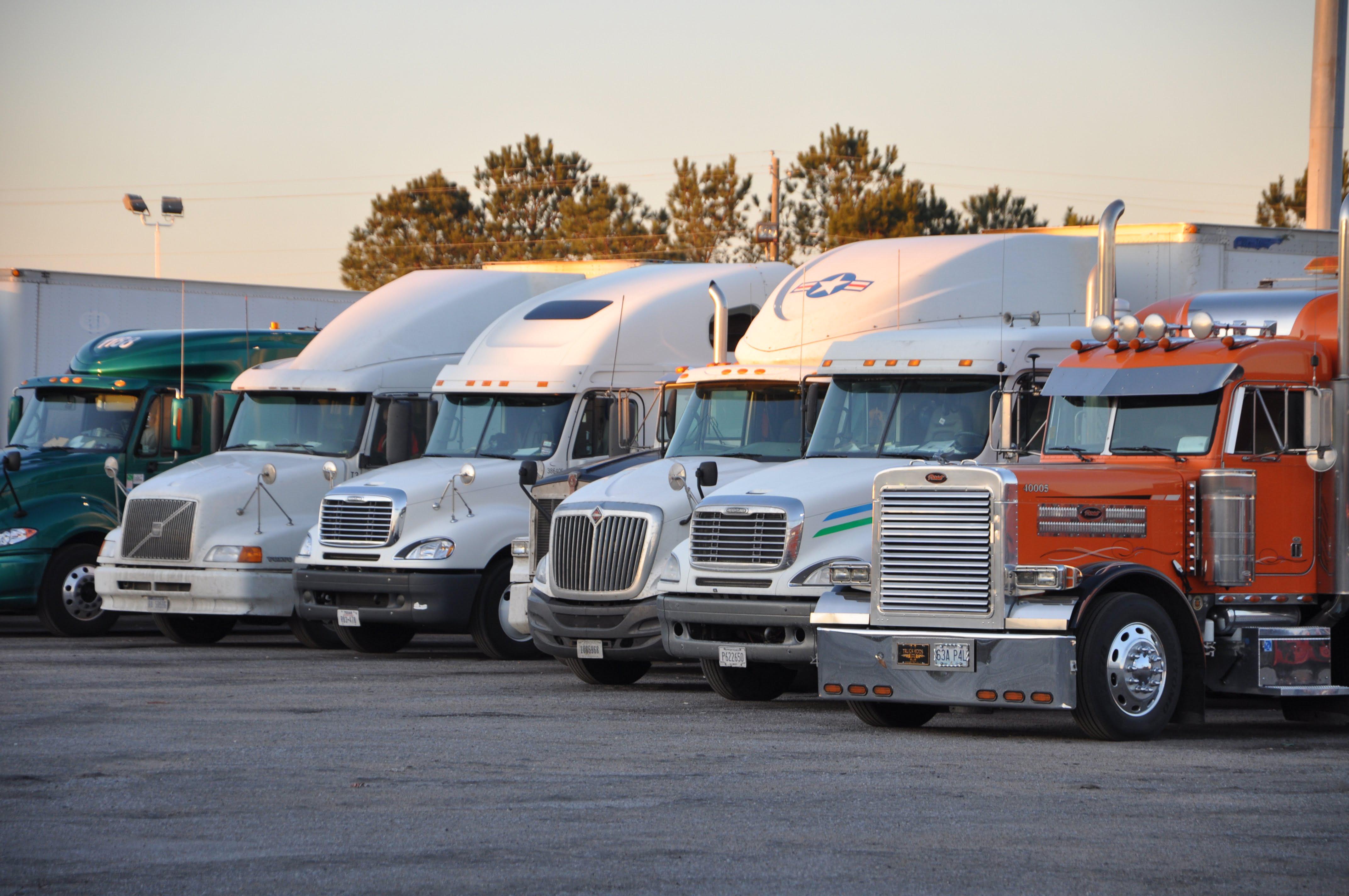 Class 8 Commercial Trucks
