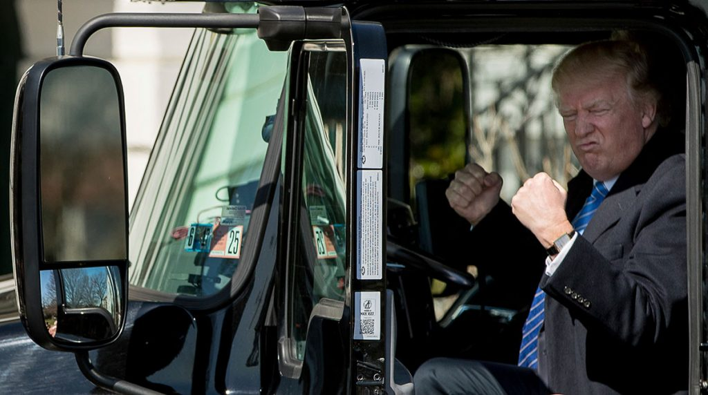 Trump Administration moves to ease truck drive time rules